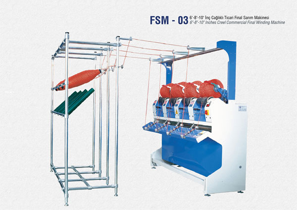 Creel Commercial Final Winding Machine in india punjab ludhiana