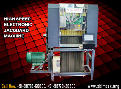 high speed electronic jacquard machine manufacturers in india punjab ludhiana surat